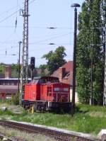 BR 298/16158/298-045-steht-in-frankfurtoder-abgestellt120606 298 045 steht in Frankfurt/Oder abgestellt.12.06.06